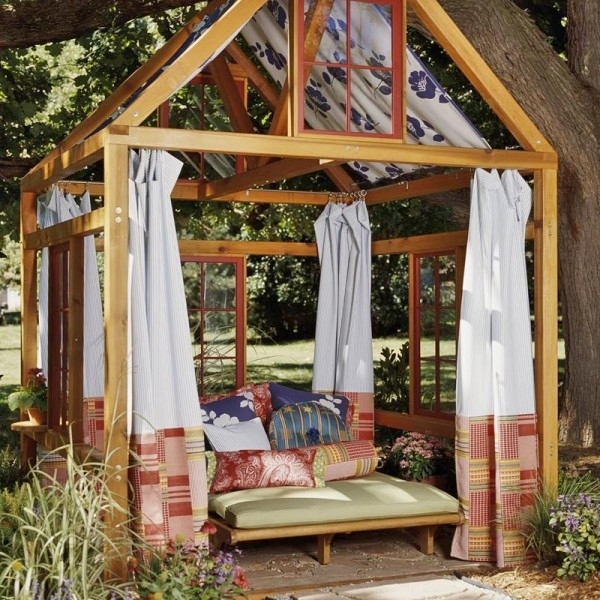 Build a simple gazebo.