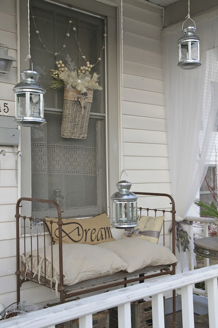 old crib into vintage style bench