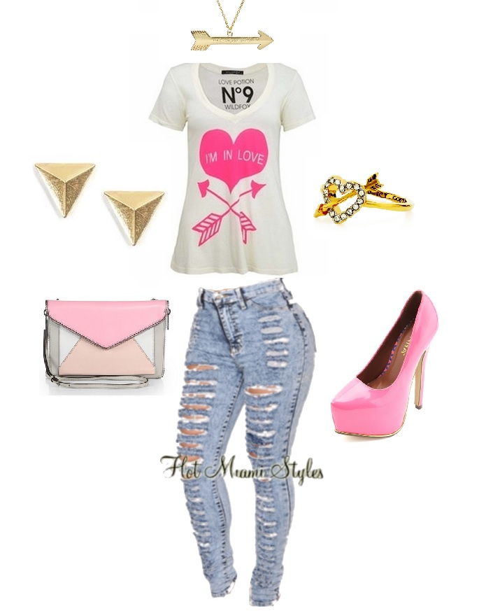 m in love outfit idea