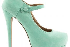 Violett  Mint JustFab Pumps (3)