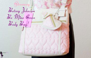 Cupkake In Pumps Giveaway Betsey Johnson Be Mine Cross Body Bag (1)