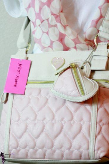 Cupkake In Pumps Giveaway Betsey Johnson Be Mine Cross Body Bag (3)