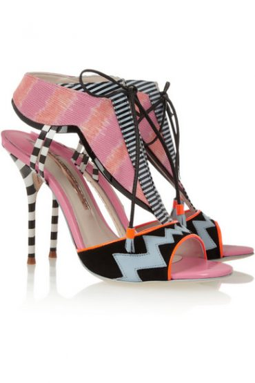 Sophia Webster Leilou Stripe Pumps (2)