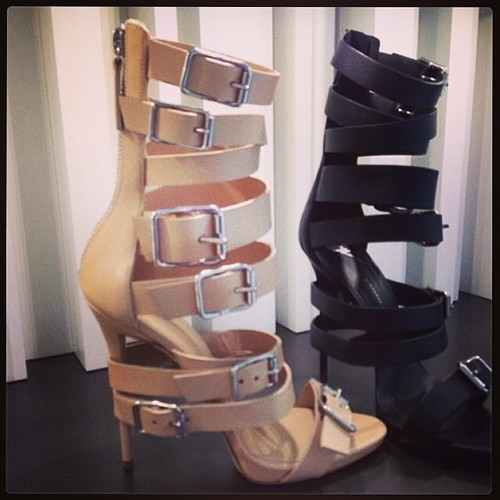 High Buckle Pumps