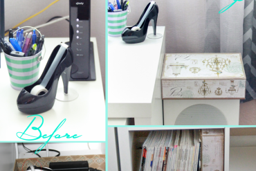 DIY Hide Your Cord and Router