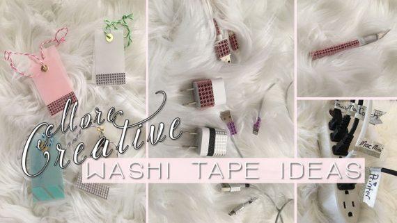 More Washi Tape Ideas